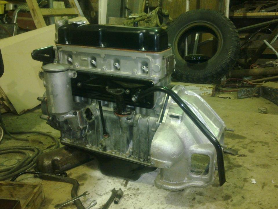 Ремонт двигателя газ