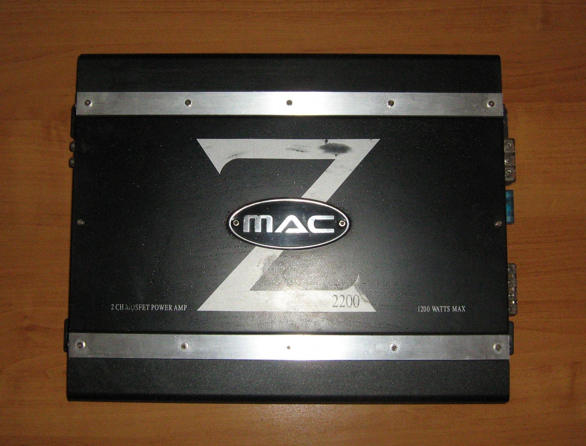 инструкция mac 2200 усилитель