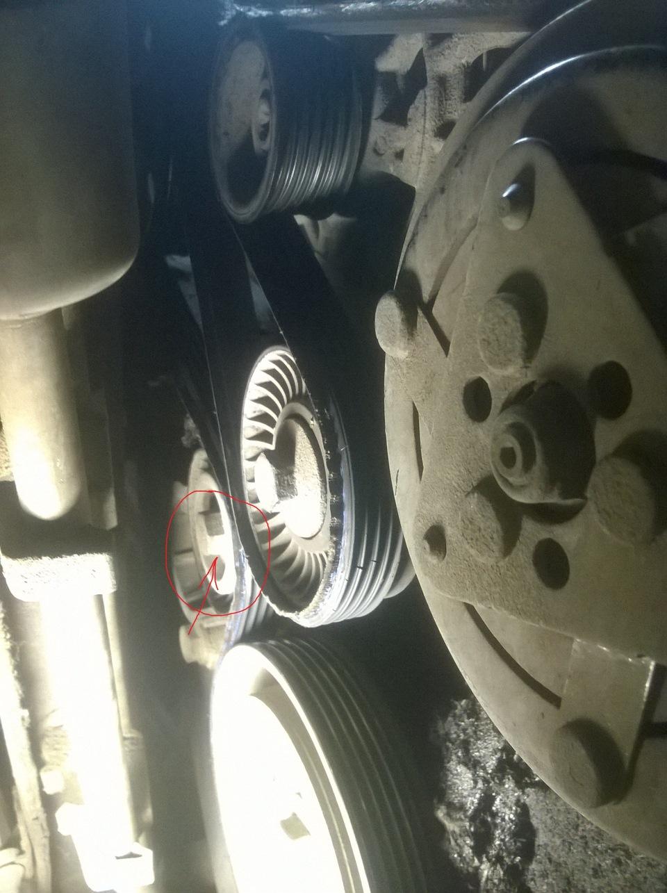 снятие генератора ситроен с5 ii