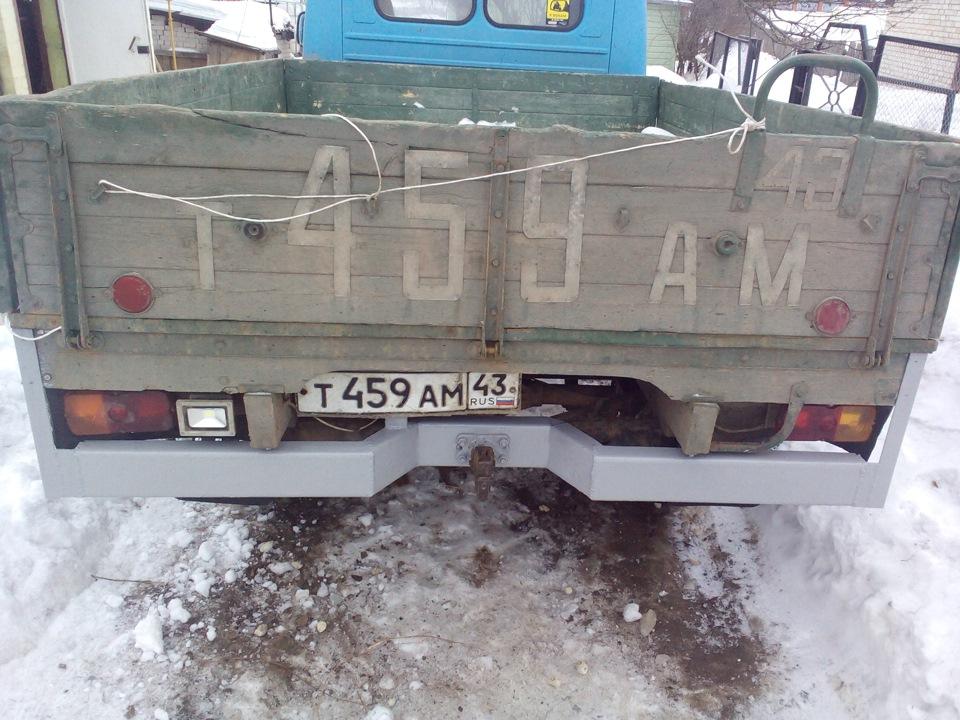 Уаз 3303 бампер