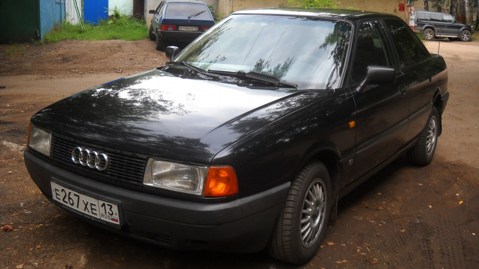 Audi 80 1.8 РМ моновпрыск!