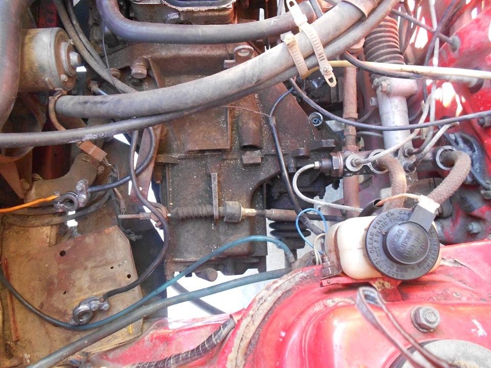 фиатовский двигатель на таврию