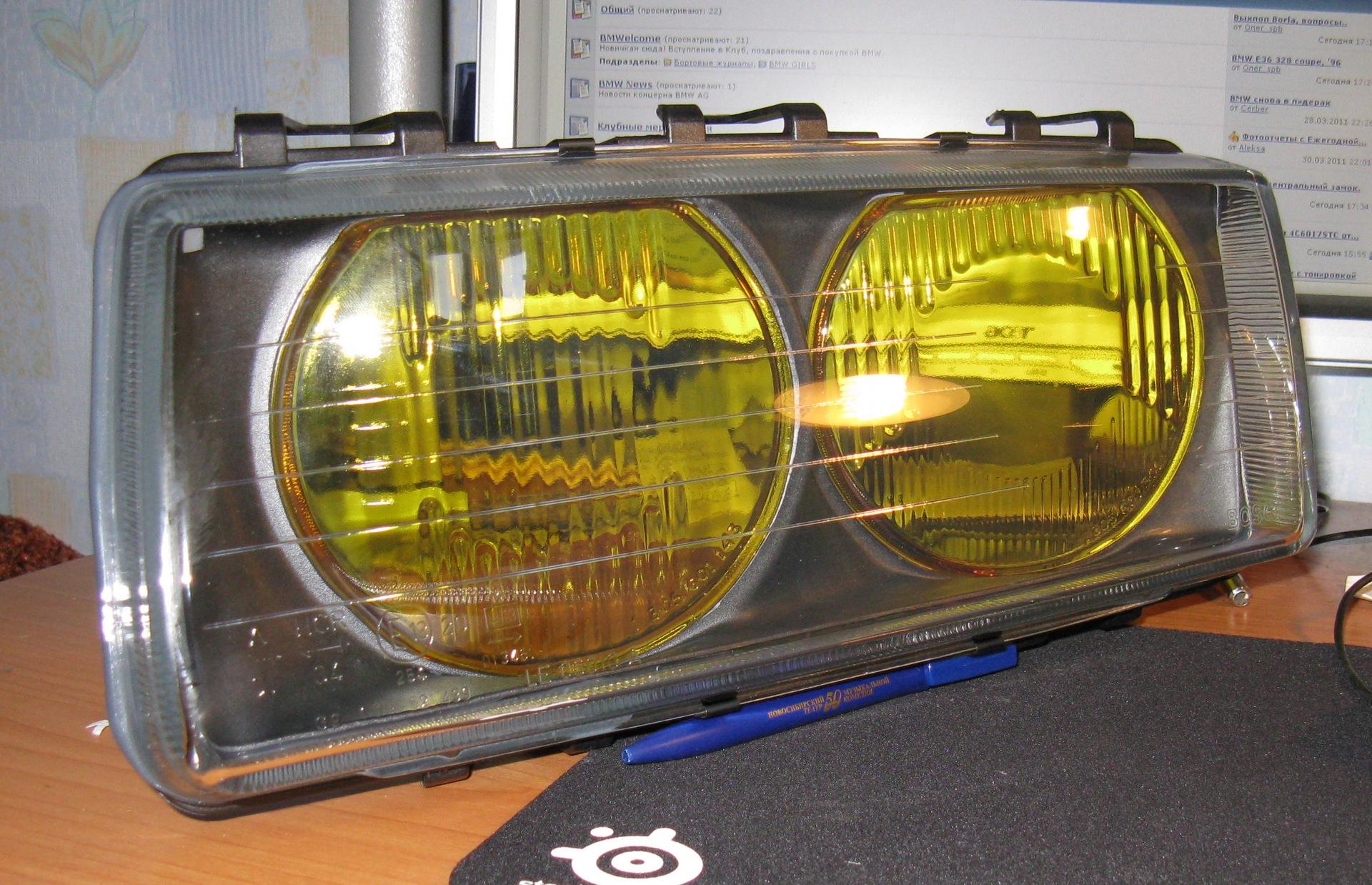 Желтые стекла - logbook BMW 3 series Coupe Zwei und Acht 1992 on DRIVE2