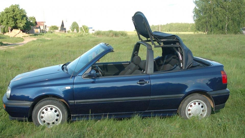 фольксваген гольф кабриолет 1997 года