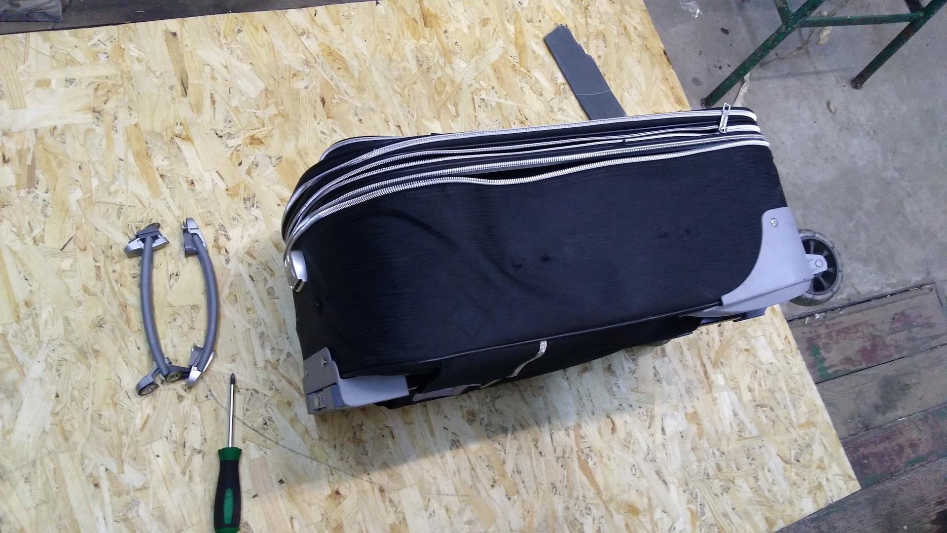 Ремонт ручки чемодана своими руками фото 979