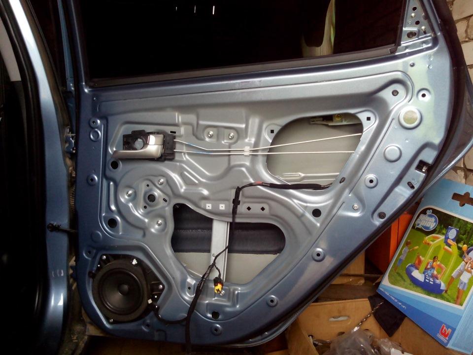 Шумоизоляция дверей киа рио. — DRIVE2