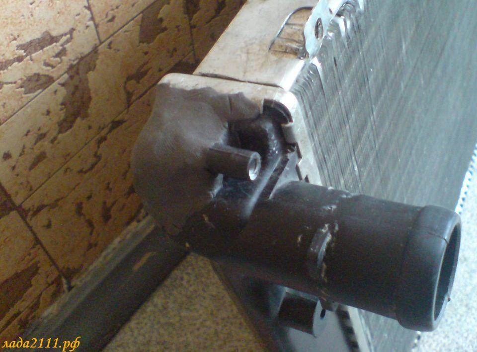 Ремонт своими руками радиатора