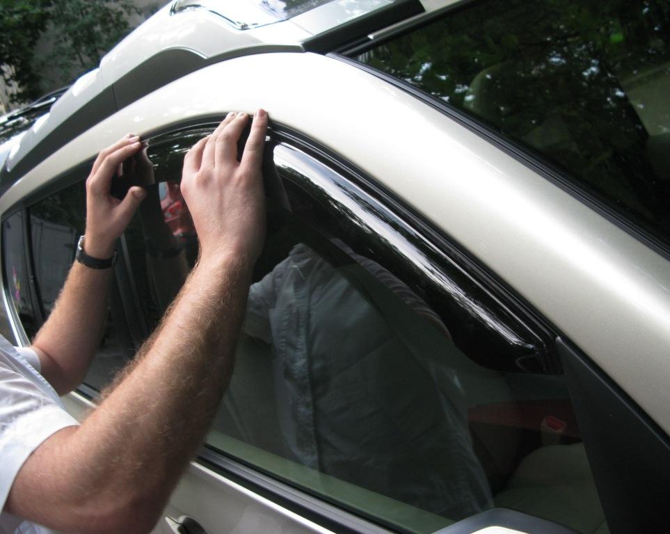 купить двухсторонний скотч для дефлекторов боковых окон