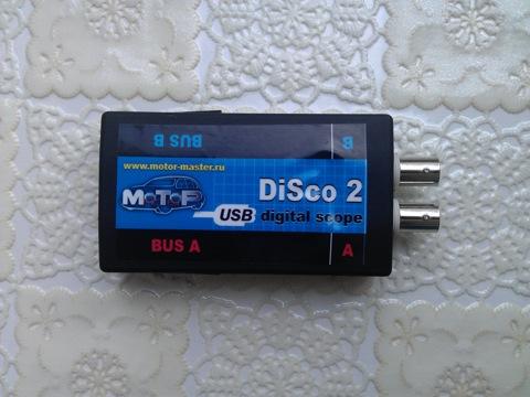 USB осциллограф DISCO 2, или диагностика часть 3.