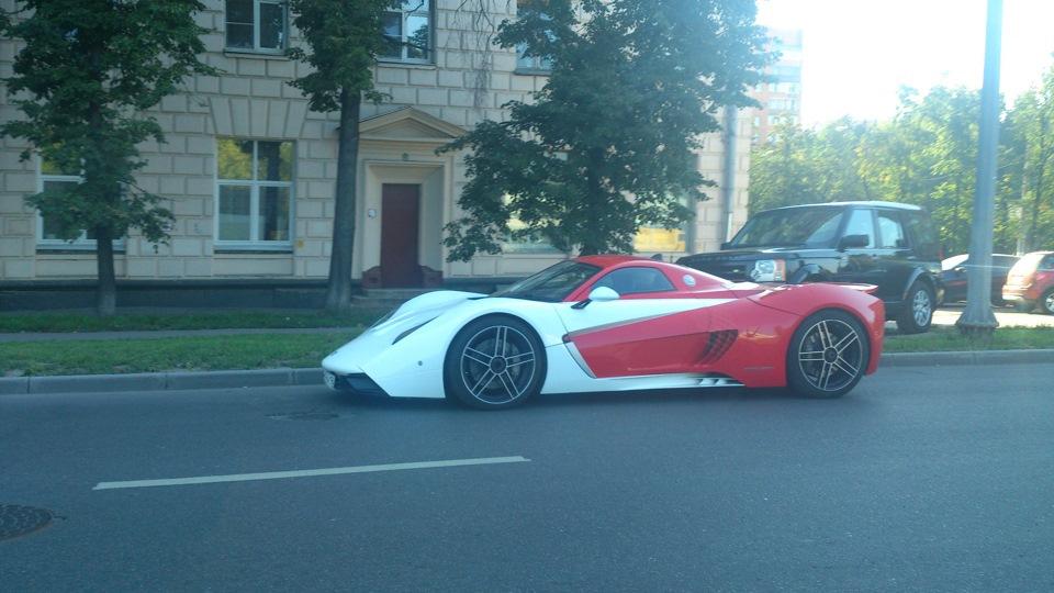 В1-17 или 18 на улицах Москвы
