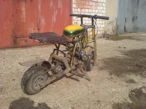 Как сделать квадроцикл из бензопилы своими руками