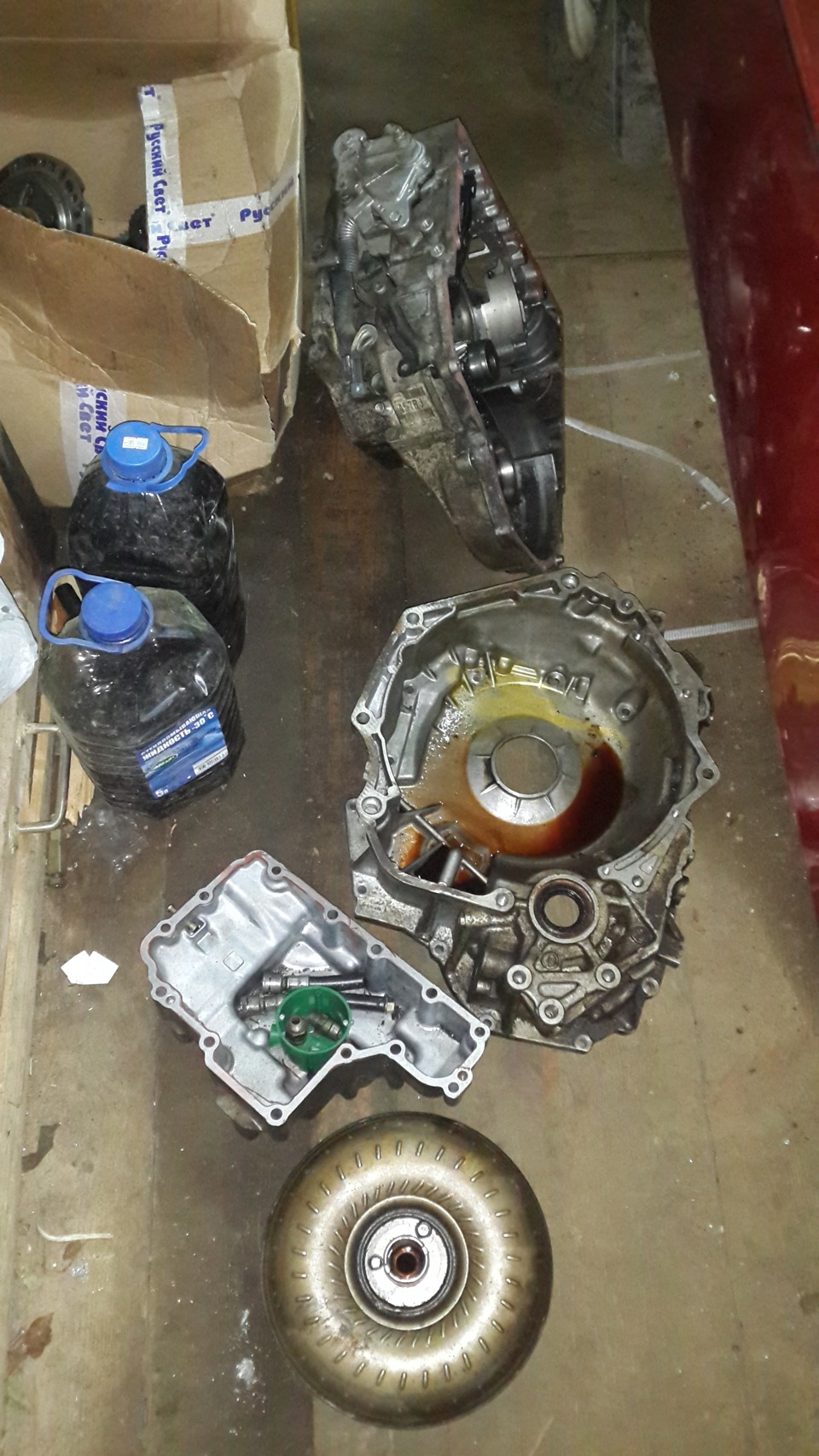 Automatic transmission Aisin Warner AW 60-41SN AF-17 — DRIVE2