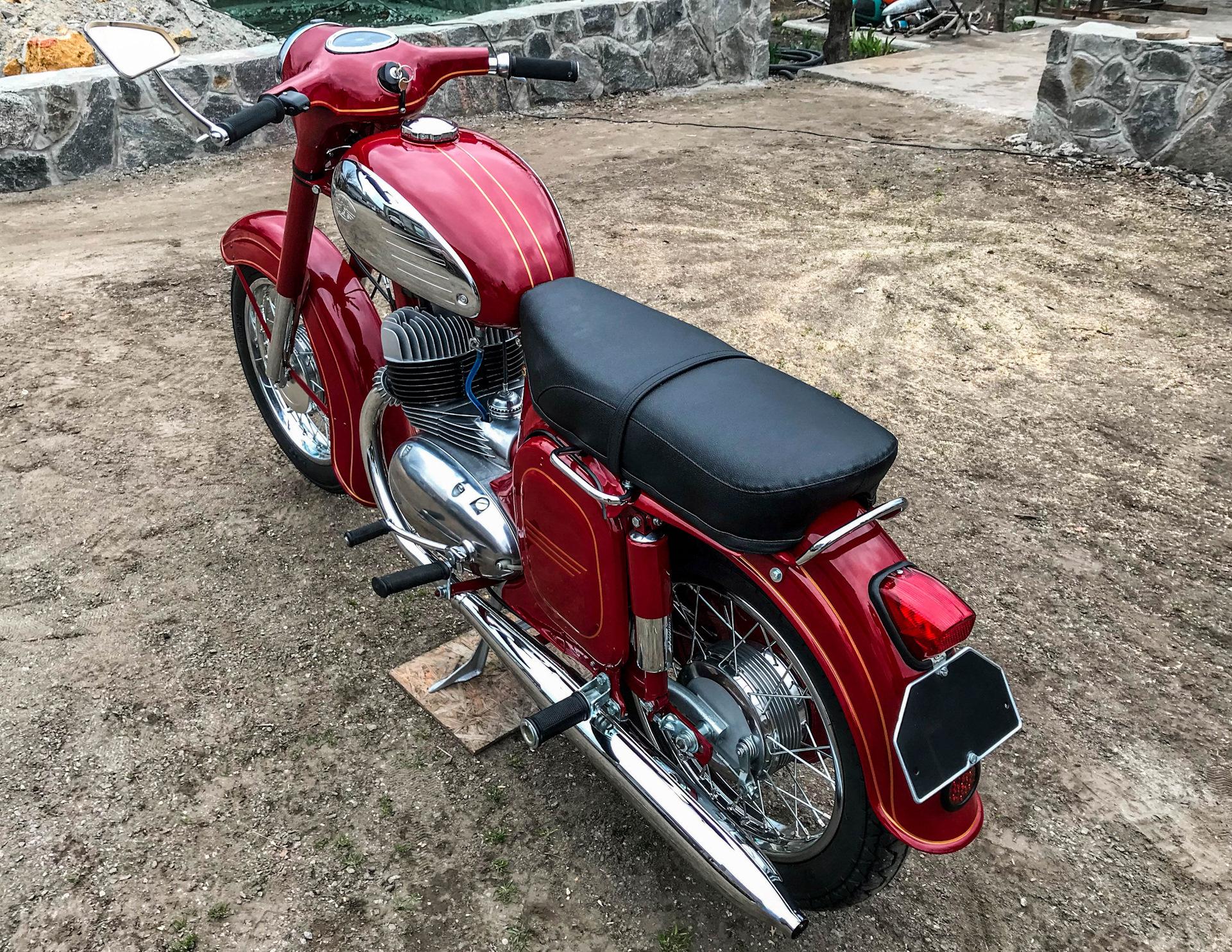 Фото мотоциклов ява старушка