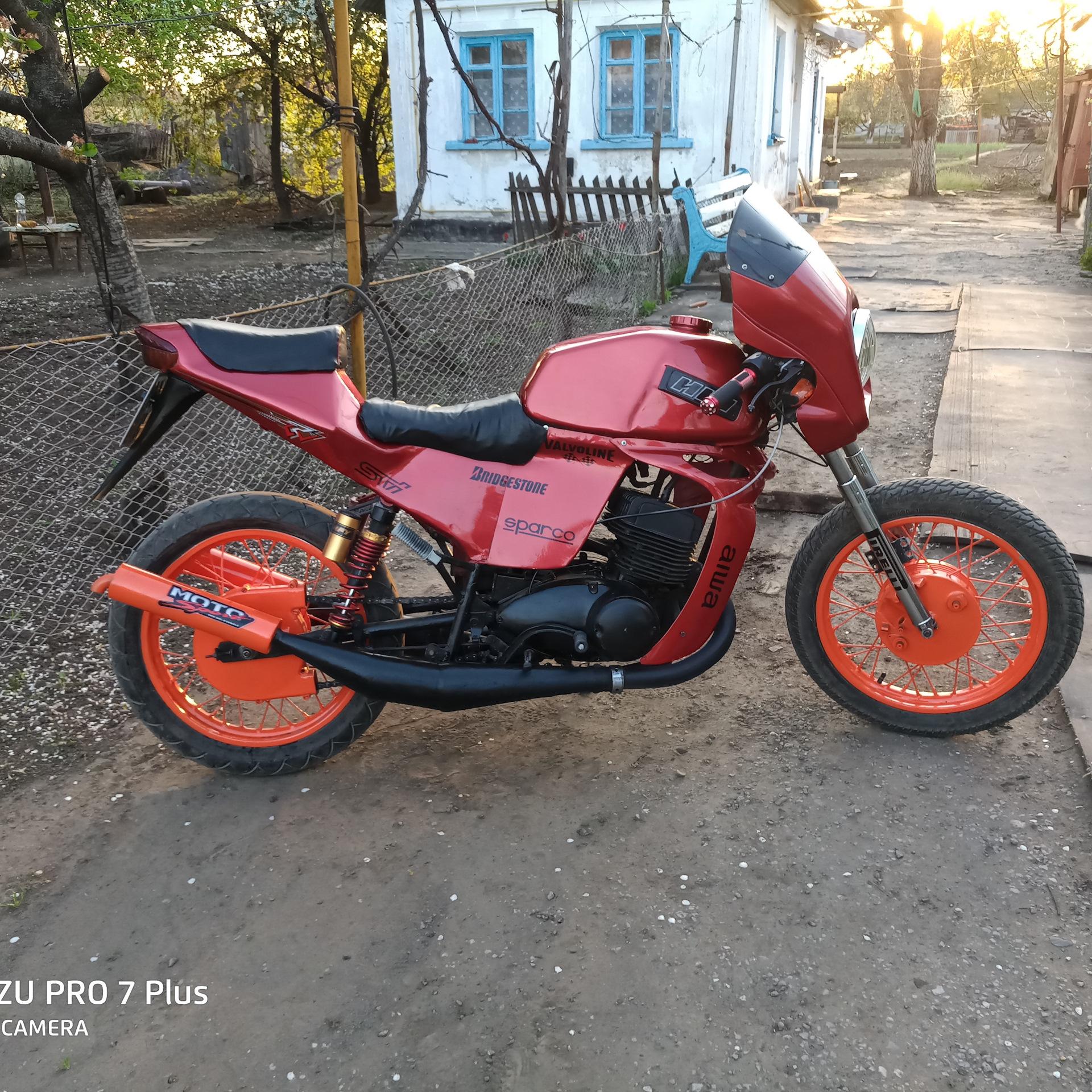 Картинки тюнинг мотоциклов иж юпитер