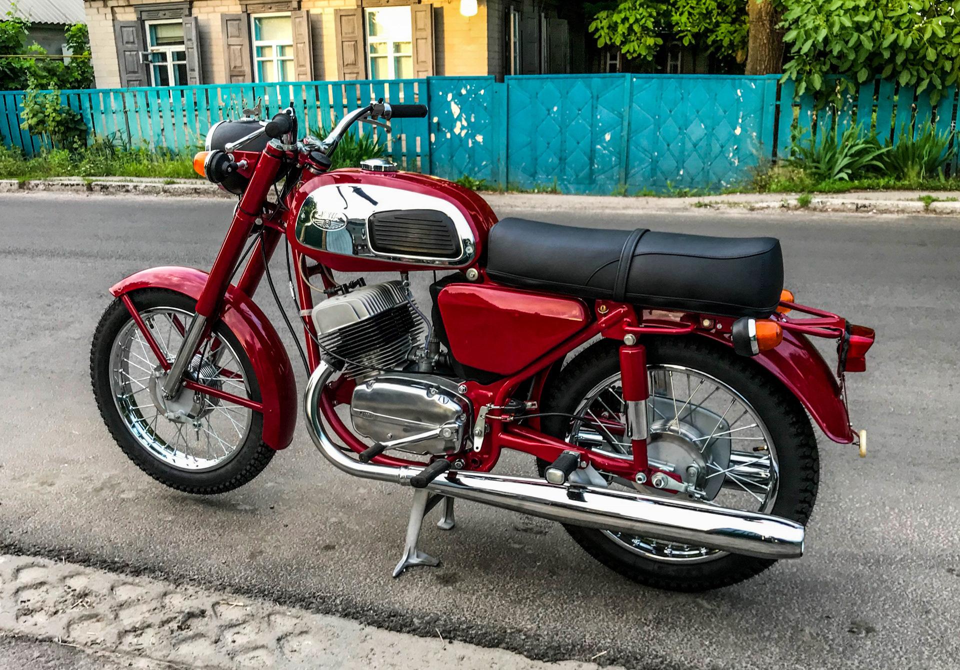 Картинки тюнинга мотоцикла ява