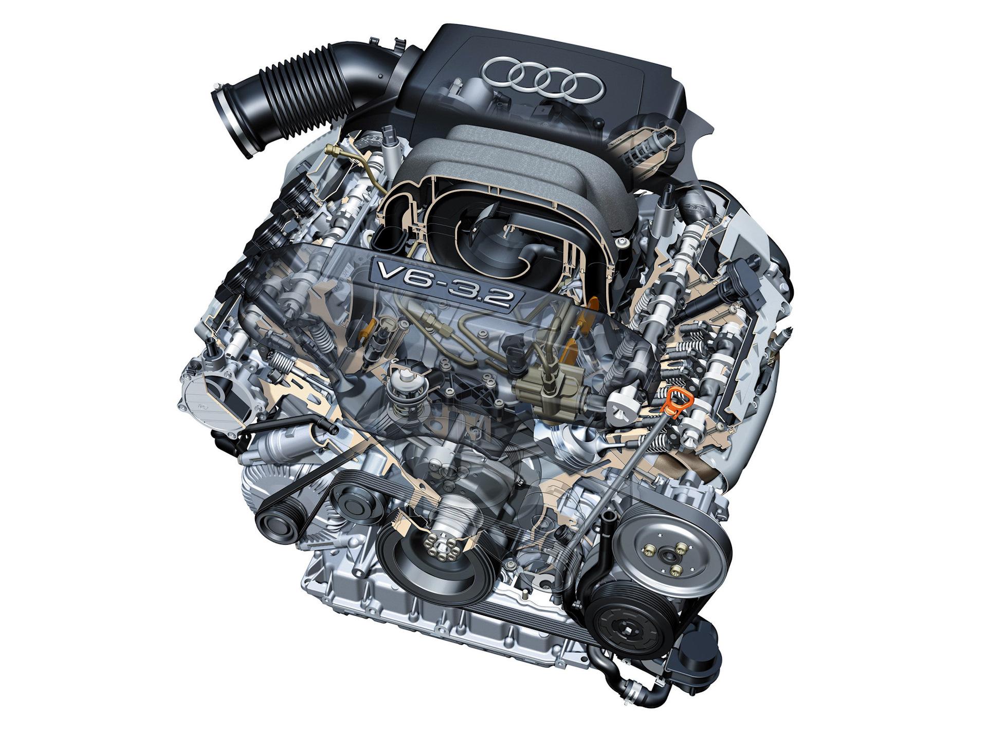 Двигатели ауди в картинках