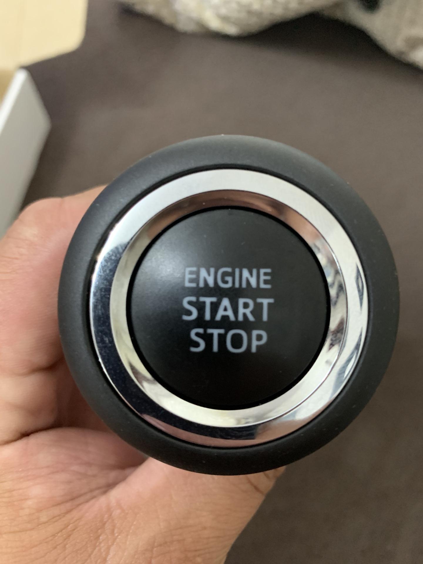 кнопка старт стоп серебристая фото