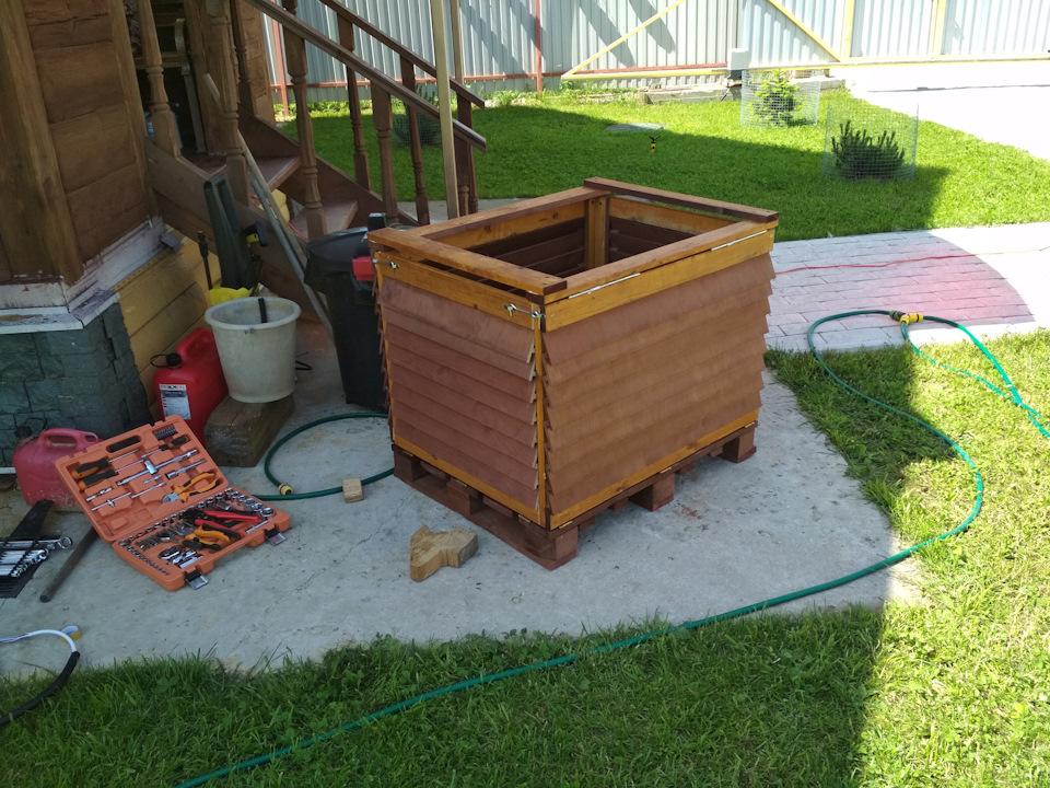 Ящик для генератора на улицу своими руками