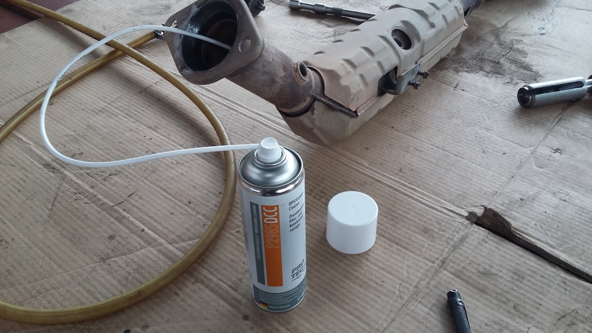 промывка автокатализатора