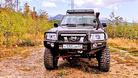 Nissan Patrol   Контроллер сопряжения персонального компьютера с бортовой системой самодиагностики OBD II по протоколам стандартов SAE (PWM и VPW) и ISO 9141-2   Ниссан Патрол