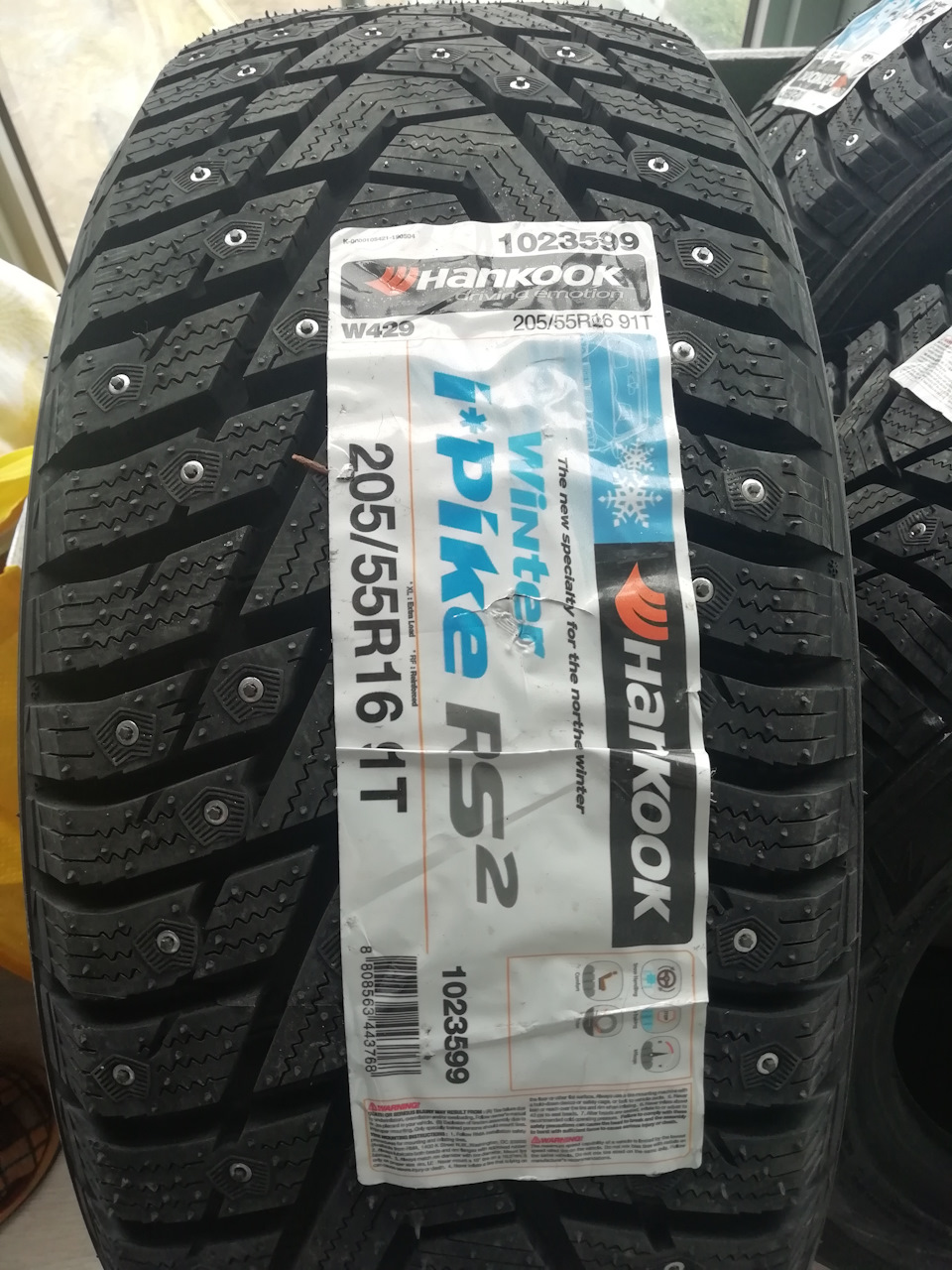 Hankook Ipike Rsv >> Hankook Ipike Rs2 Hankook Winter I Pike Rs W419 Test And