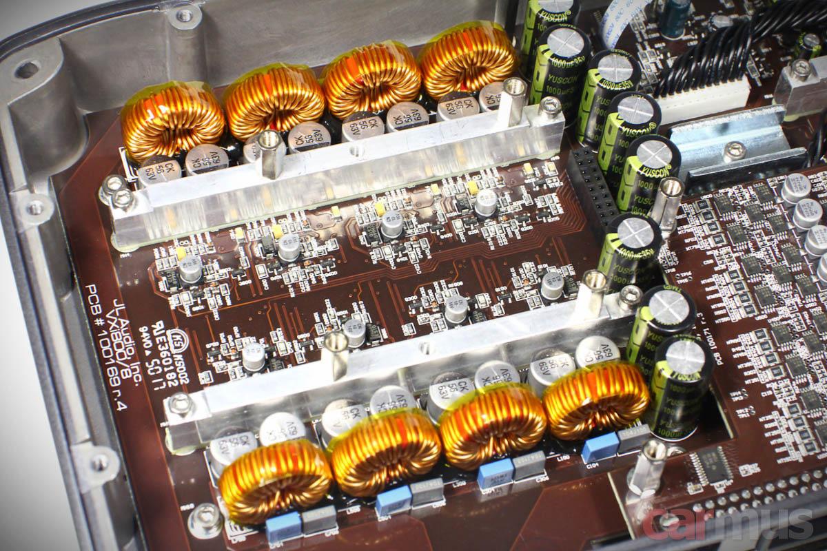 Тест 8-канального усилителя с процессором JL Audio VX800/8i  Часть 1