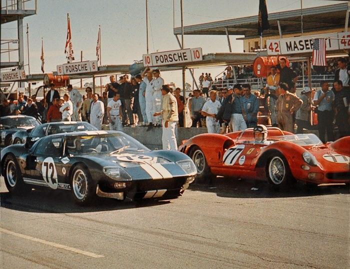 Ford vs Ferrari история