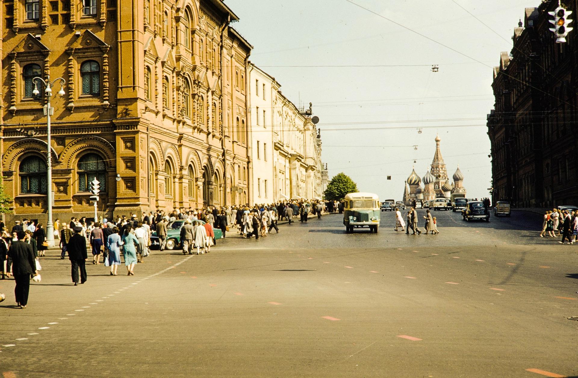 обладают какой-то фото улицы исторической москвы естественной среде