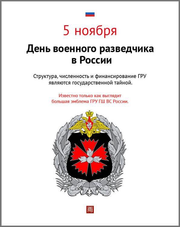 день разведчика в россии принципе основе этого