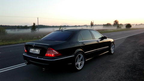 Mercedes Benz S 55 AMG W220 Owners Reviews With Photos DRIVE2