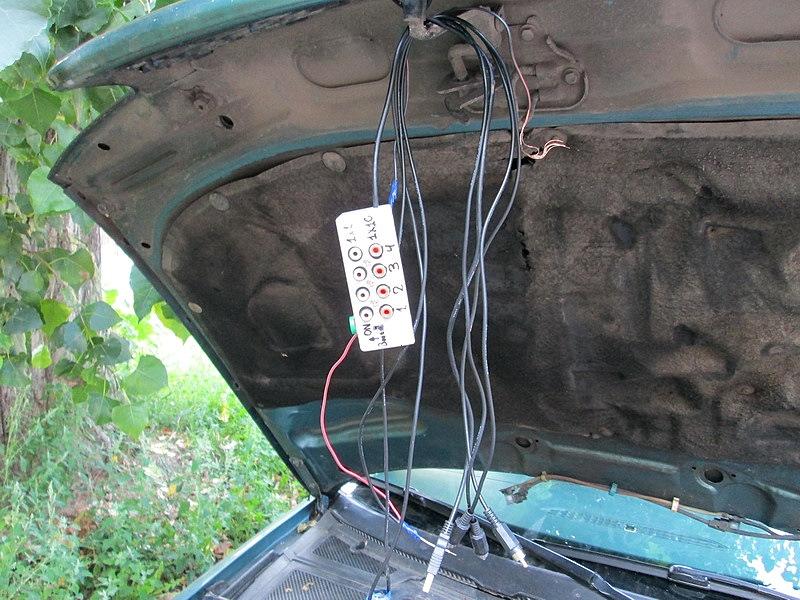 Самодельный автомобильный осциллограф
