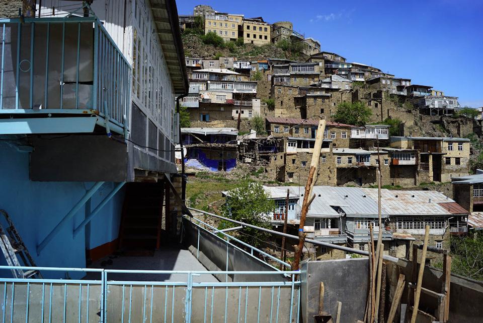 Село Кубачи в Дагестане