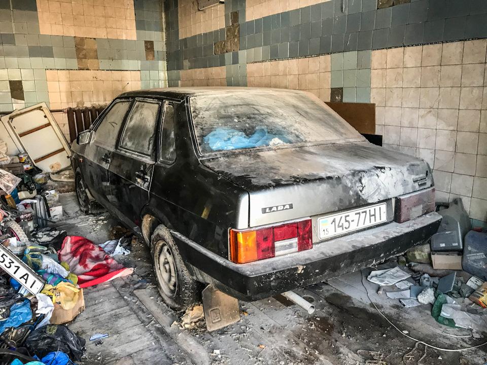 25 лет в гараже