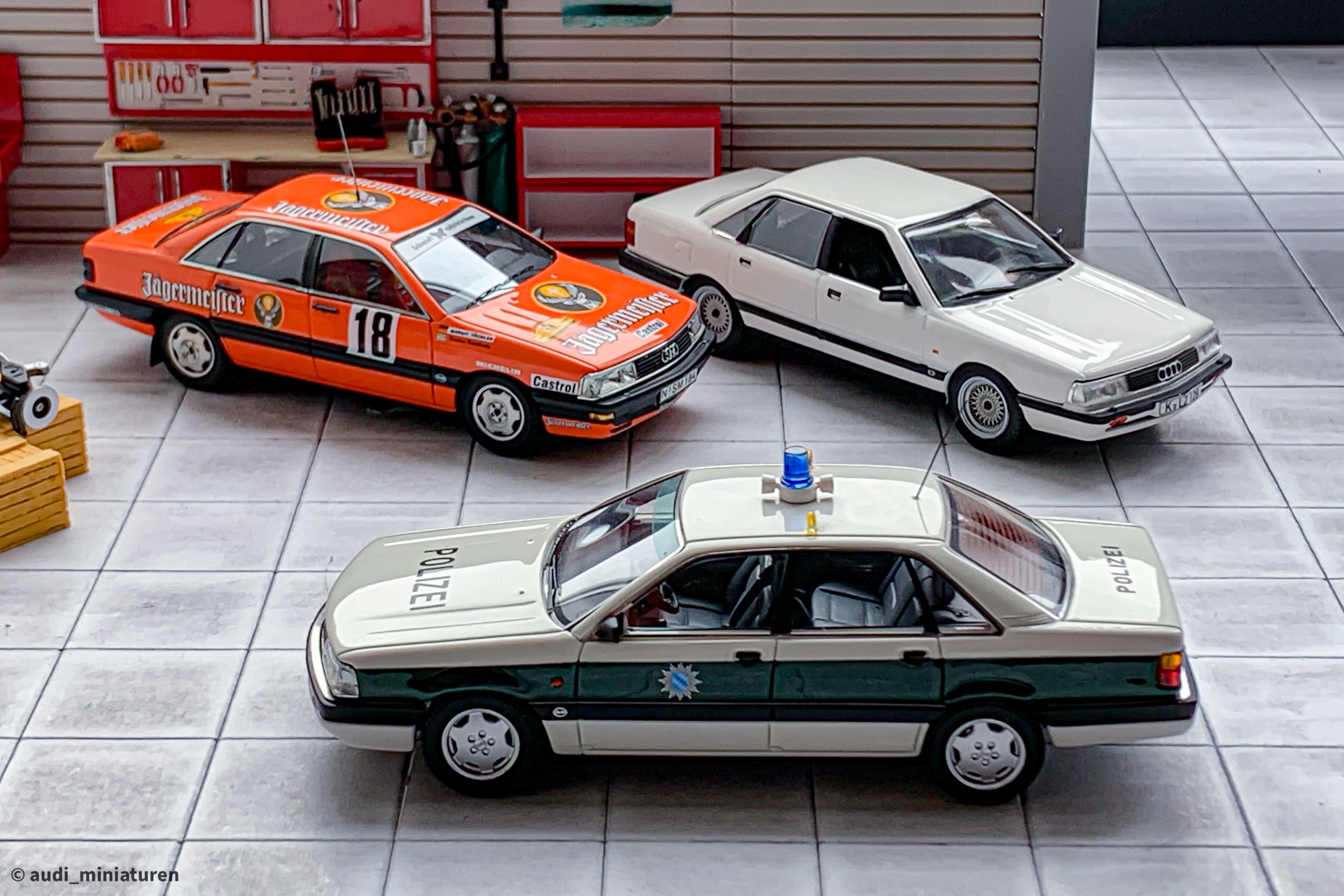 1:43 Norev Audi 200 Quattro 1989 white NEW bei PREMIUM-MODELCARS
