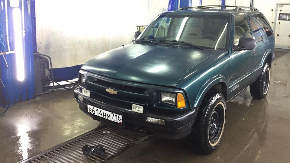 Chevrolet Blazer обзор