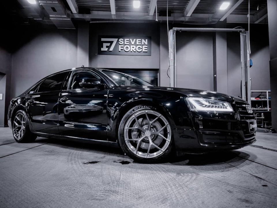 Турбины от S8/RS6/RS7 на Audi A8 Stage 3?