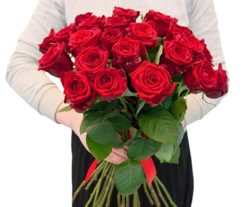 Самые дешевые розы с доставкой в петербурге, букет