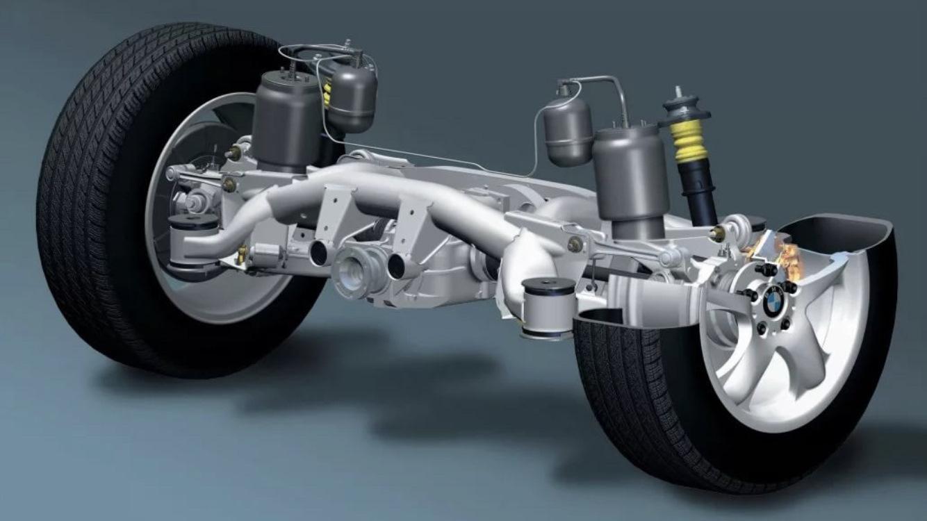 Пневмоподвеска на BMW: конструкция, особенности, модели