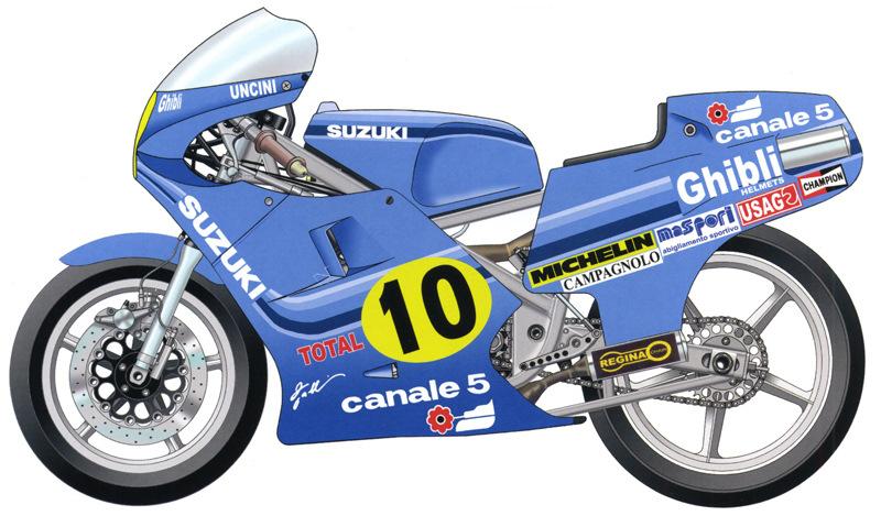 1982 Suzuki RG500 Gamma XR40