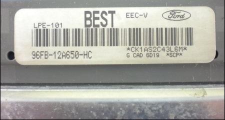 Diag О EEC V и A4LDE  Часть 1  — Ford Scorpio, 2 0 л , 1990 года на