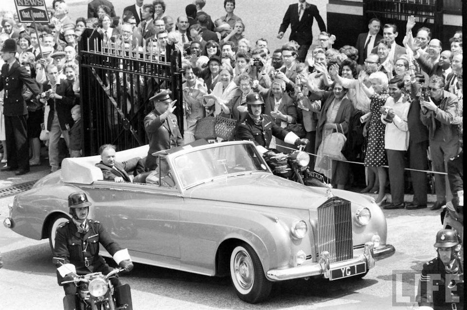 Гагарин в Лондоне