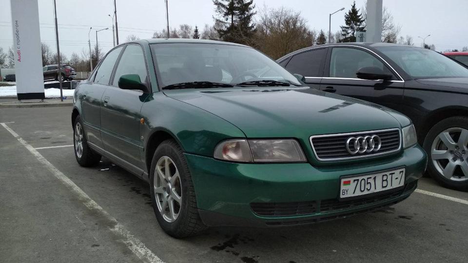 Audi A4 B5 18 125лс газбенз Drive2