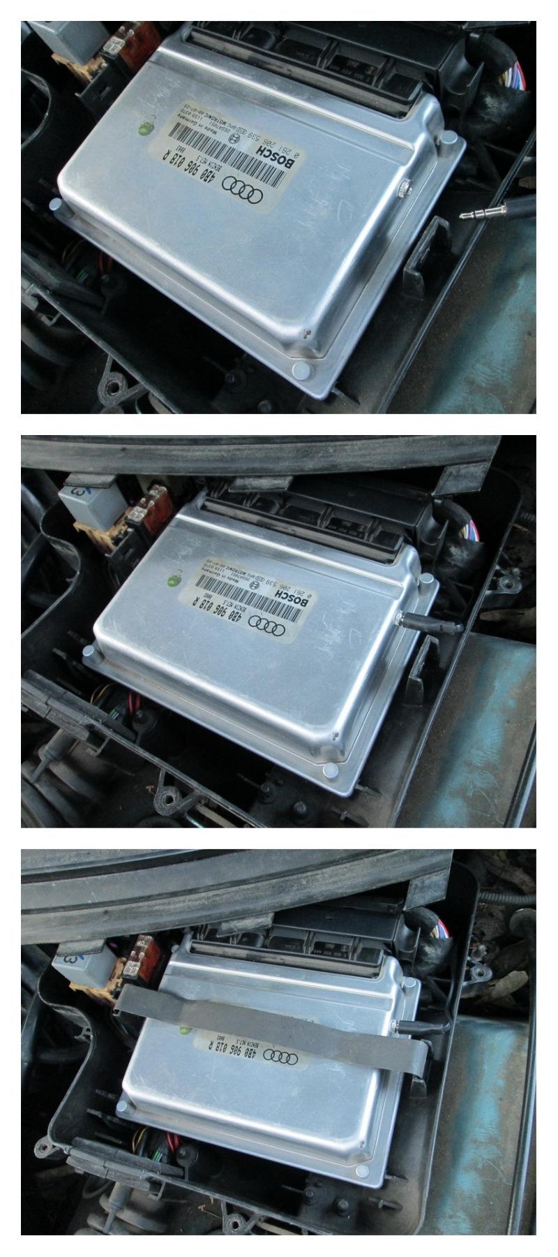 Установка двух прошивочного блока МЕ7.5 на машину