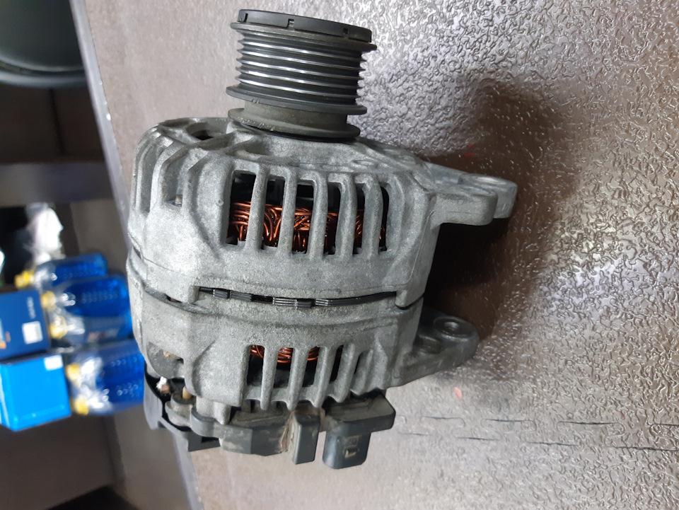 Ремонт генератора фольксваген транспортер люлечный конвейер для охлаждения вафельных листов
