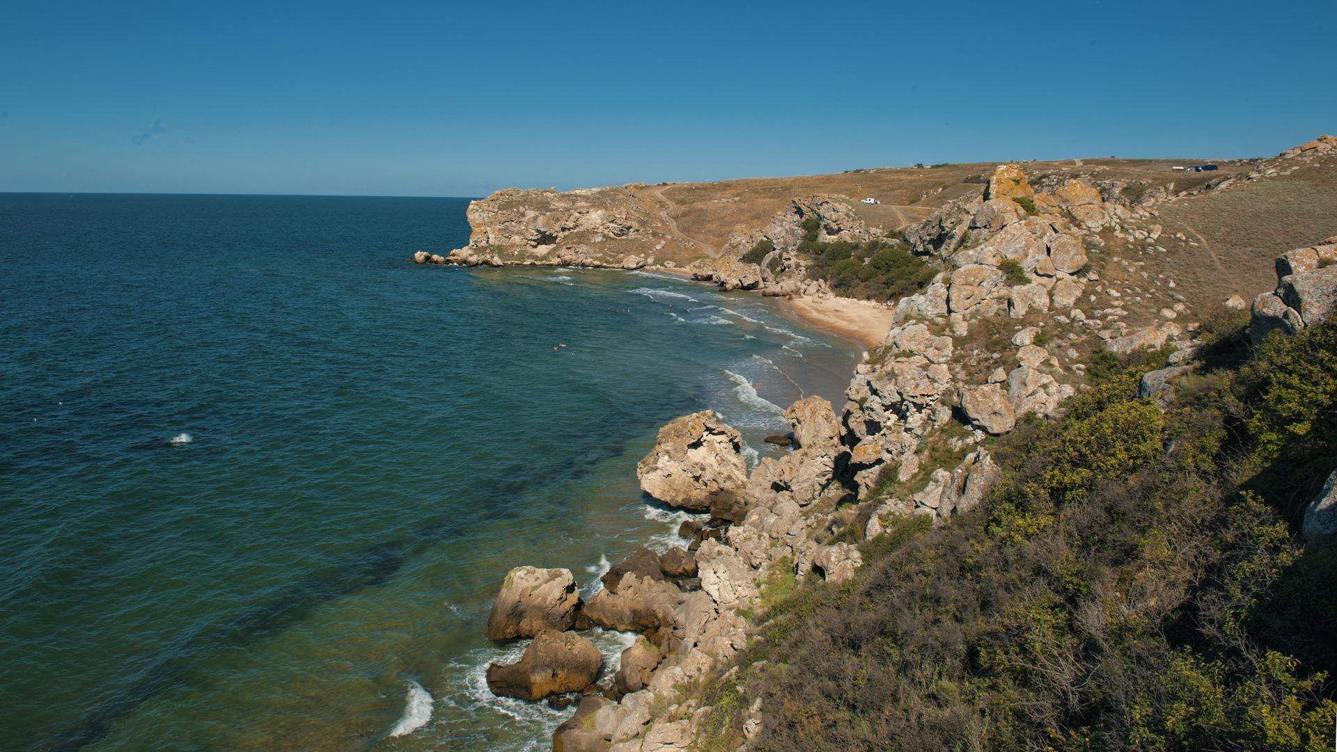фотографией, отдадите крым дикие пляжи фото выяснилось