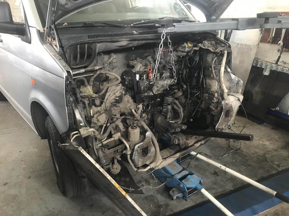 неисправности двигателя фольксваген транспортер