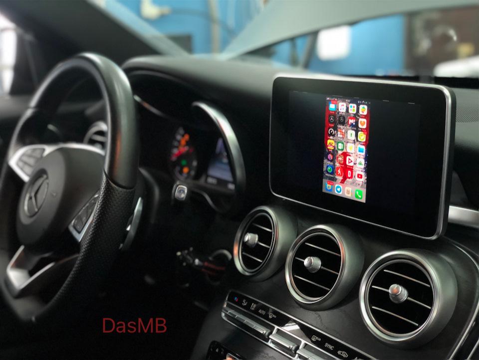 Mercedes-Benz C-Klasse W205 — Installing Comand Online, Mirror Link