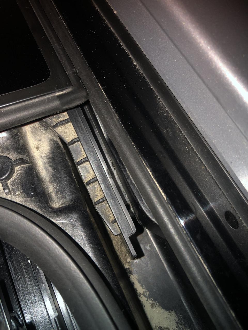 Неисправность закрытия панорамного люка Kia Sorento PRIME UM