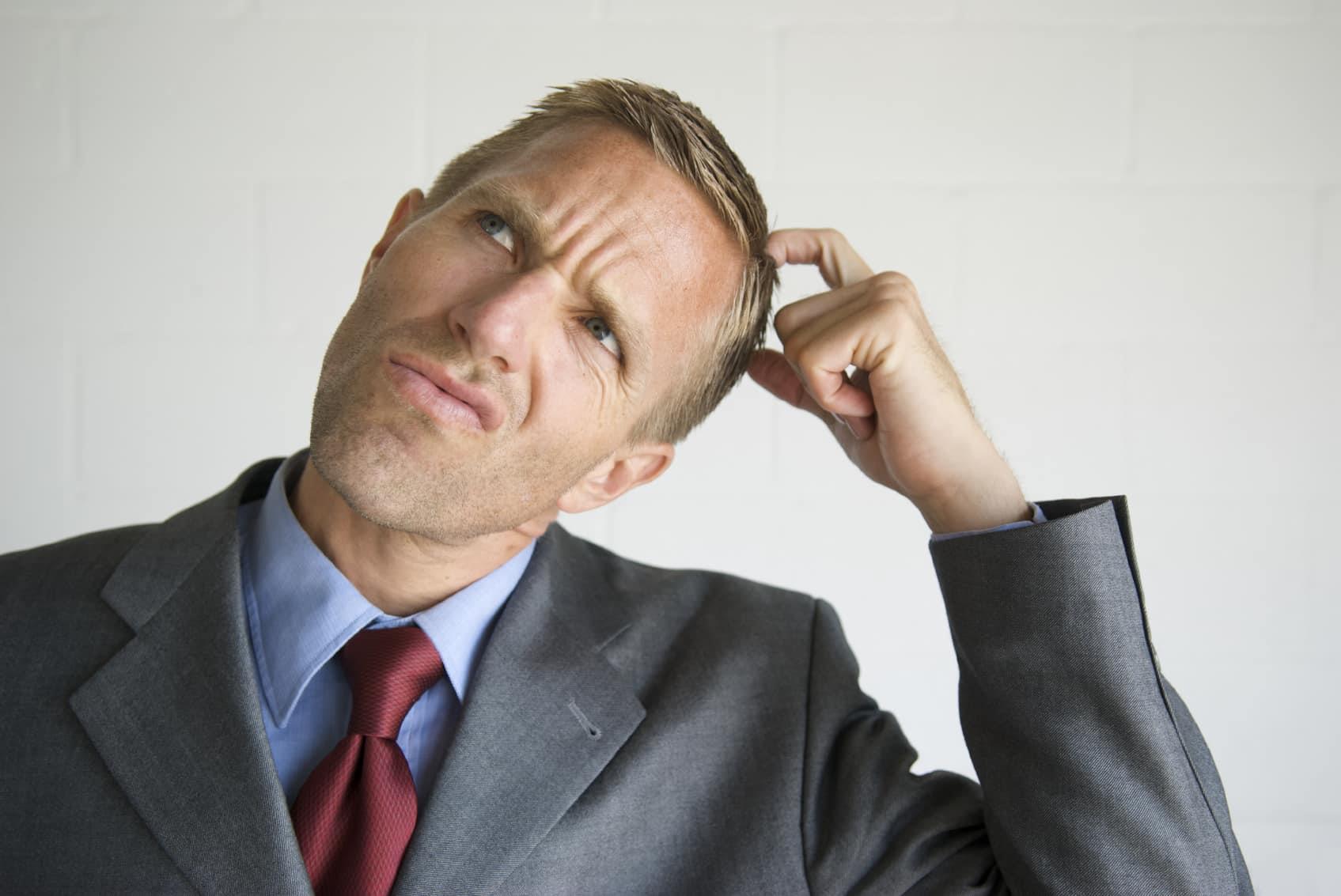 картинка думающего мужика что говорят
