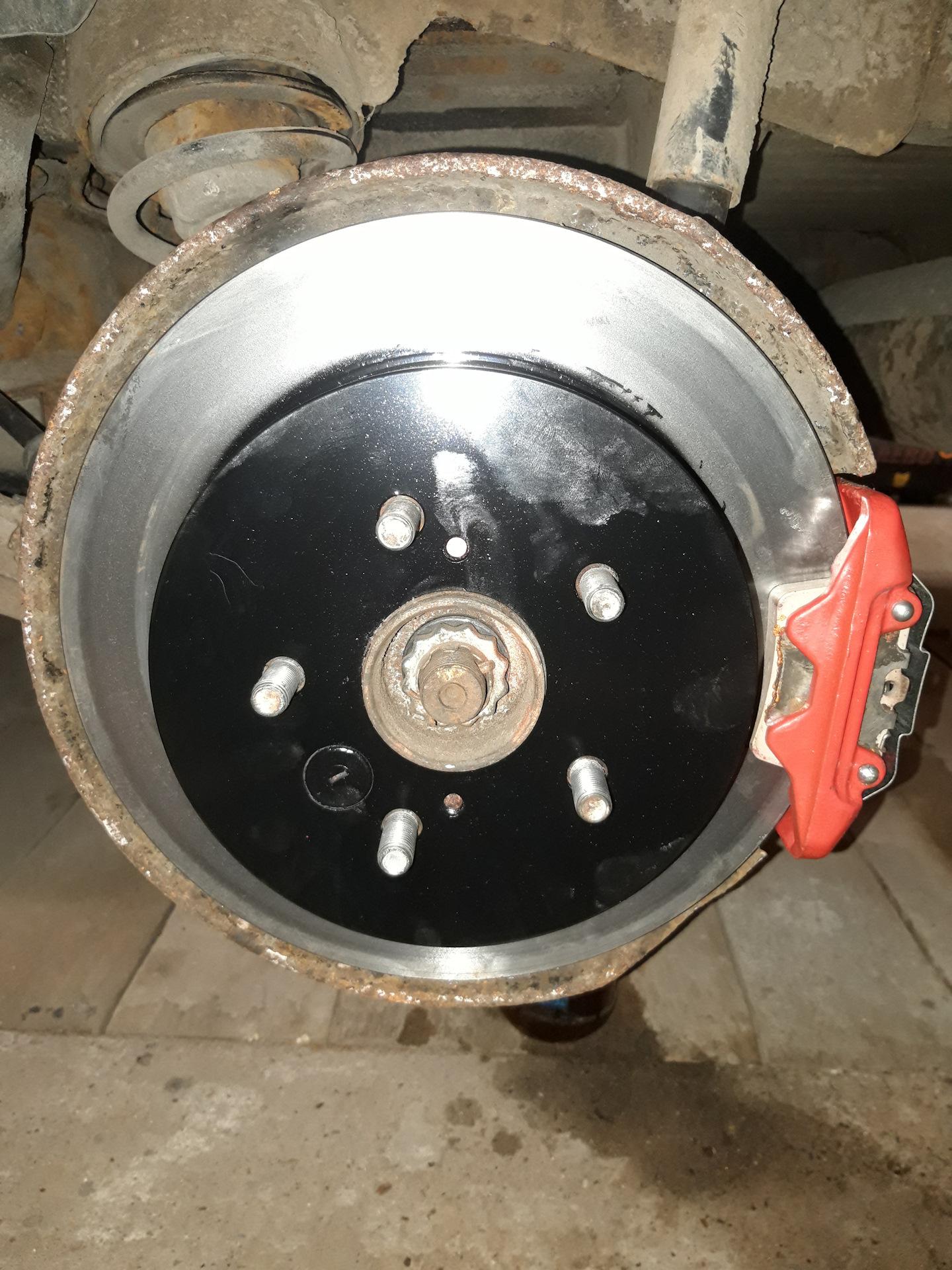 замена тормозных дисков toyota rav4